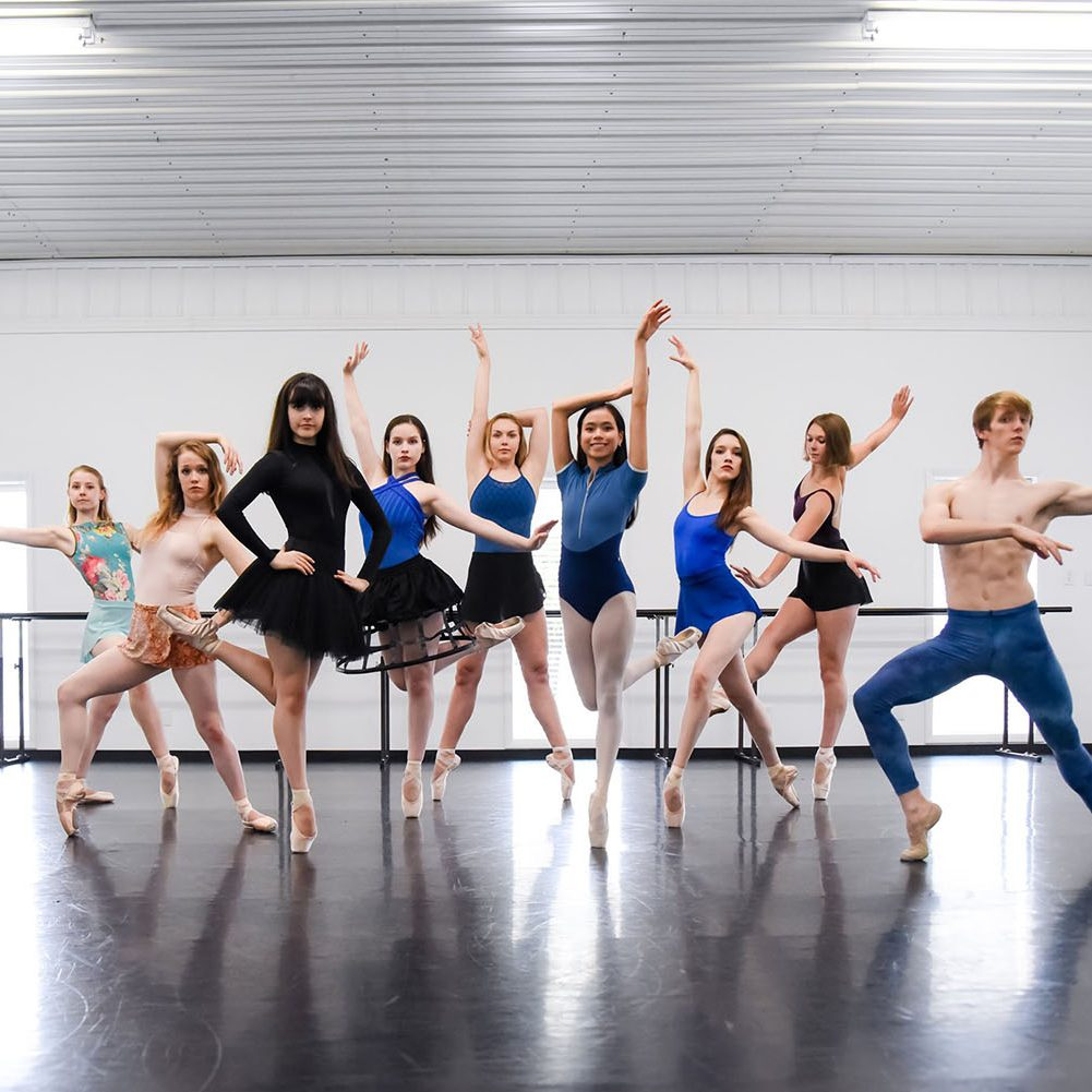 En Pointe Indiana Ballet summer intensive 1500