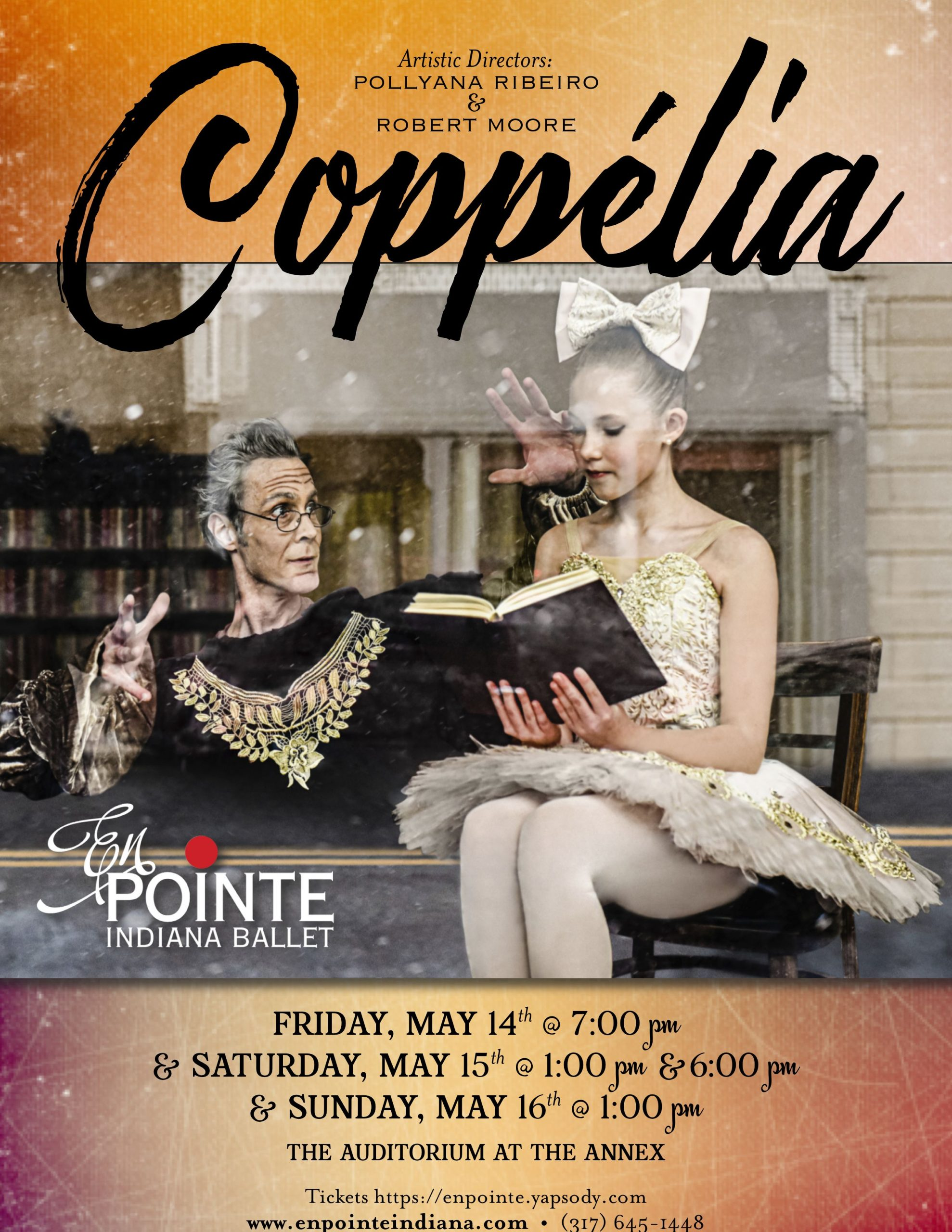 Coppelia En Pointe Indiana Ballet in Noblesville